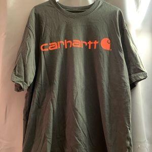 Dark grey Carhartt work shirt